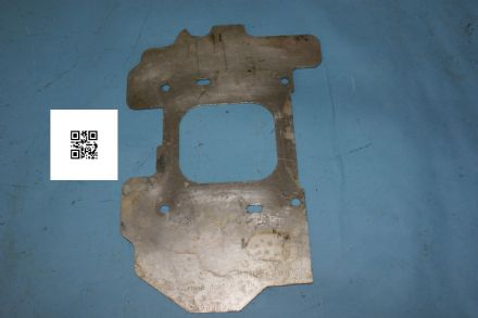 1968-1970 Corvette C3 Big Block GM Heat Shield 3969835, Modified, used poor